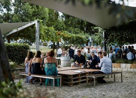 Pre dinner drinks - Wedding Celebrations - Ben Ean